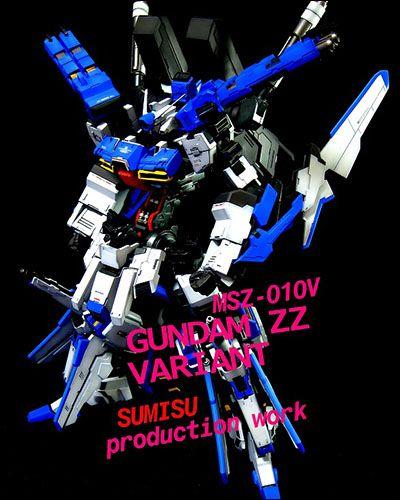 "[18th All Japan ""Ora-Zaku"" Championship] Winner - Gundam ZZ Variant (Built by Sumisu)"