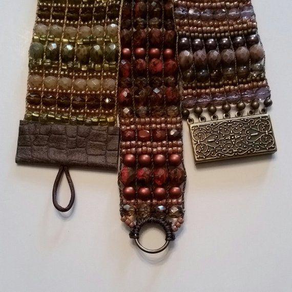 Beaded Loom Bracelet Tutorial Pdf Instant Download
