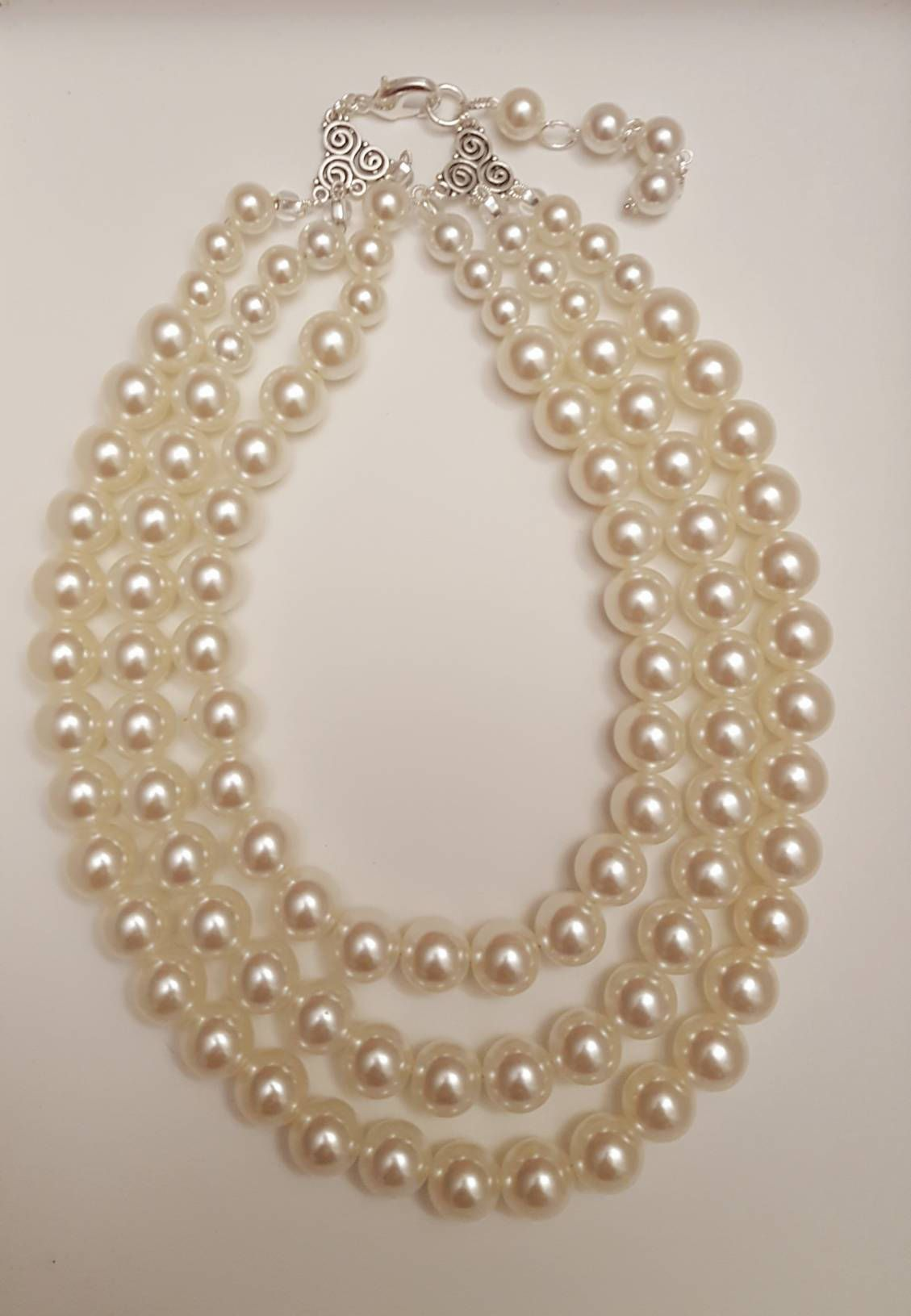 6f4682834 Excited to share the latest addition to my #etsy shop: Chunky three layer  pearl