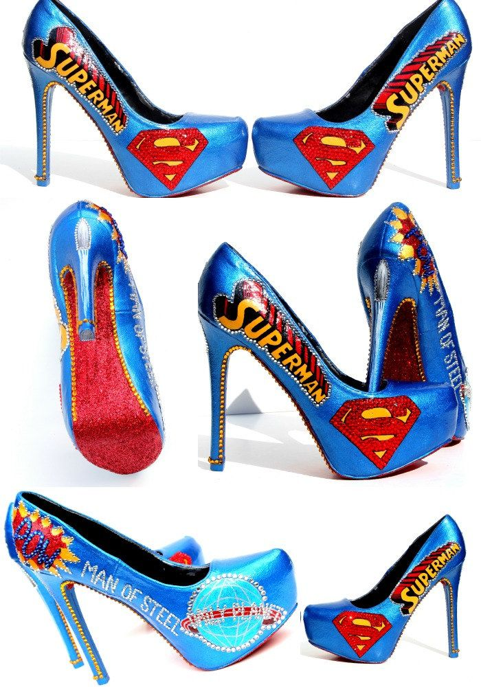 Able To Leap Tall Buildings In A Single Bound It S Superman Heels