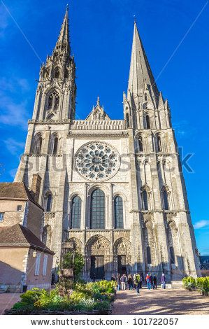 Chartres Cathedral Stock Photos, Chartres Cathedral Stock Photography, Chartres Cathedral Stock Images : Shutterstock.com