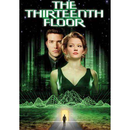 The Thirteenth Floor Thirteenth Floor Vhs Movie