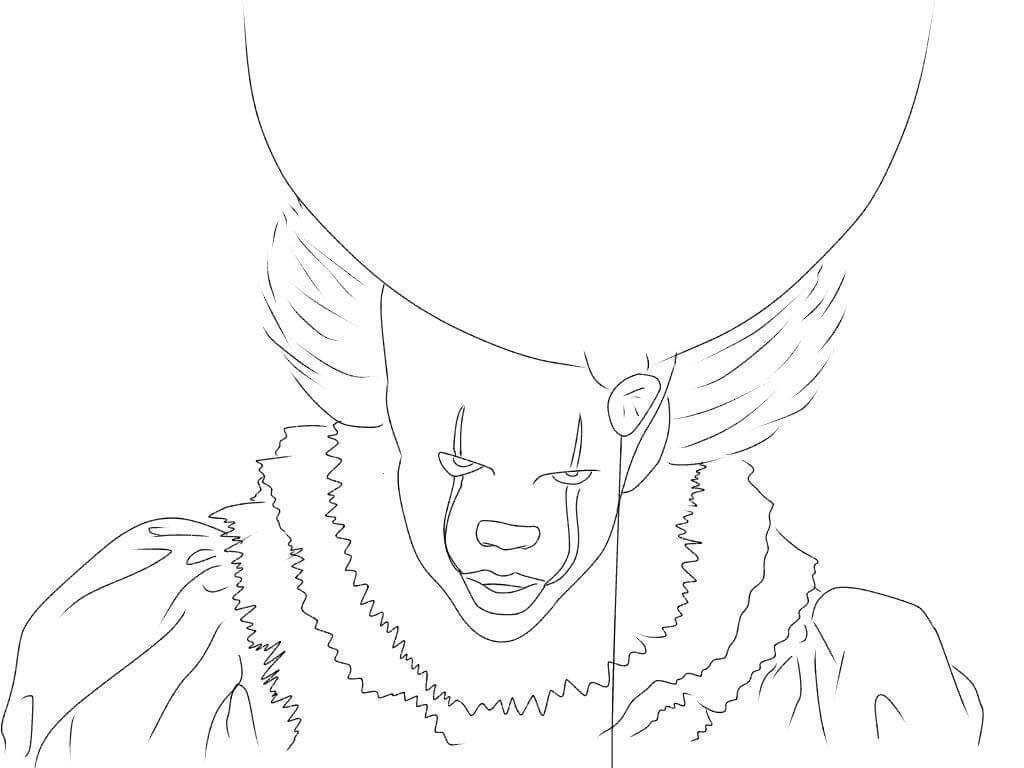 Free Printable Pennywise Coloring Pages People Coloring Pages Coloring Pages Coloring Pages For Kids