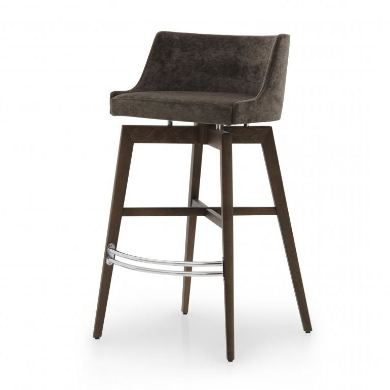 Esclusivo Bespoke Upholstered Bar Stool Ms0604b Custom Made To