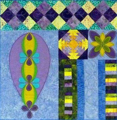 Boho Bliss Block 6 Quilt Pattern TCQ-40