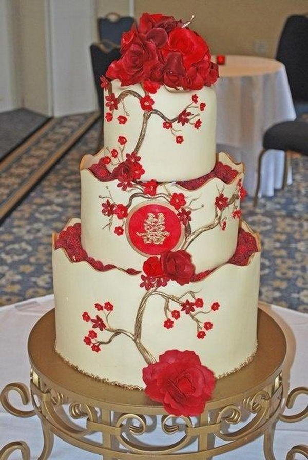 chinese wedding cakes pictures happiness wedding cake 17 traditional 12668