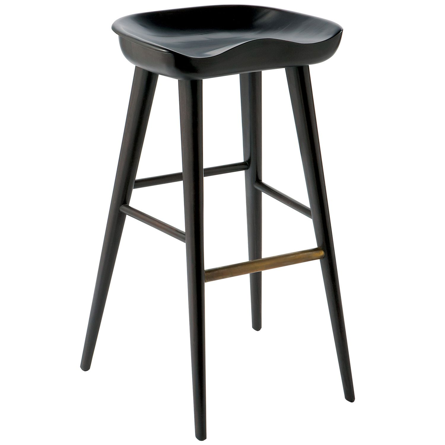 the brownstone balboa stool offers a modern handcrafted look in a