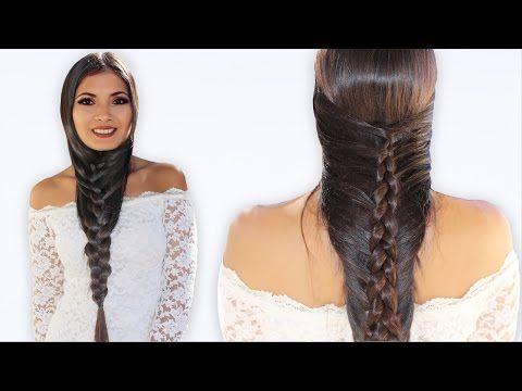 Peinados Para Cabello Largo Faciles Y Bonitos Bessy Dressy Youtube