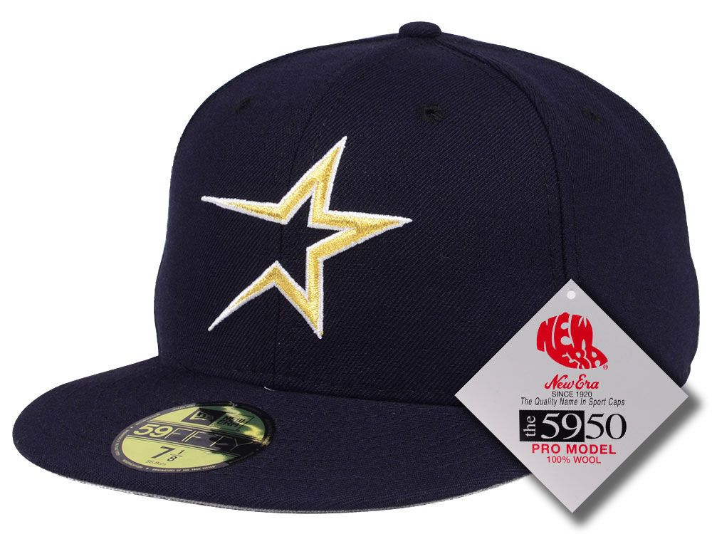 b750a6e23 Houston Astros New Era MLB Retro Classic 59FIFTY Cap | Hats ...