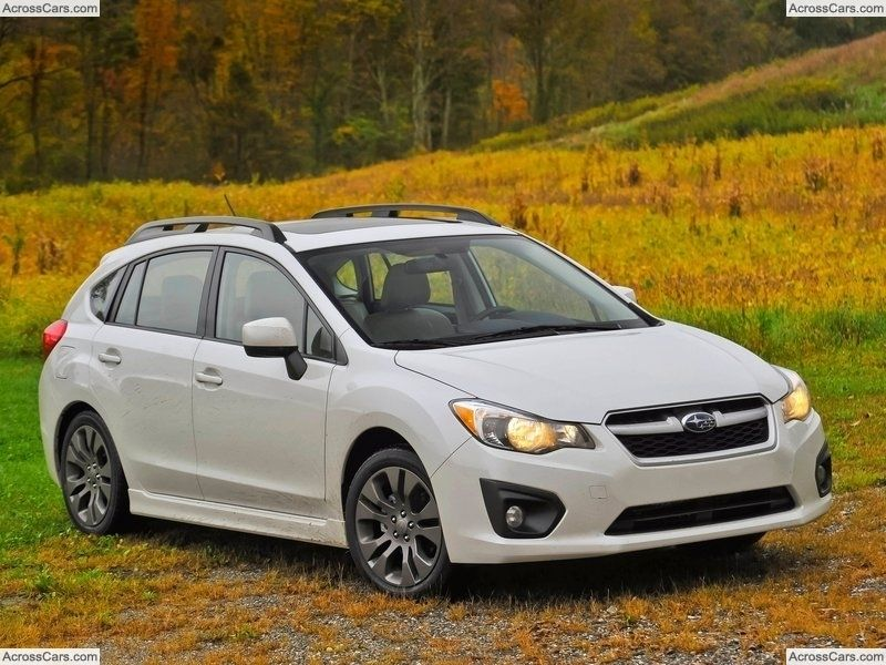 Subaru Impreza 5 Door 2012 Best Small Cars Small Cars Subaru