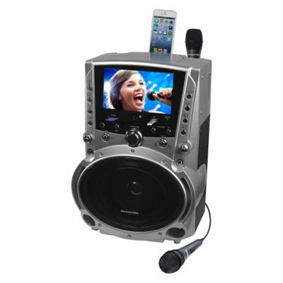 Karaoke Dvd/cdg/mp3G Karaoke Player With 7-Inch Tft Color Screen And Record Function #karaokeplayer