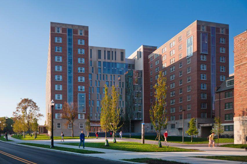 Ohio State University Park Stradley Hall And Smith Steeb Hall Sasaki In 2020 Ohio State University Park Ohio State College