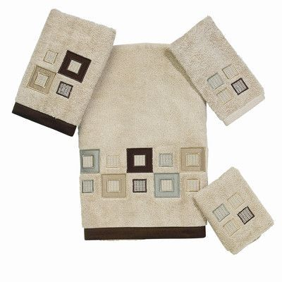 Avanti Linens Premier Metropolis 4 Piece Towel Set