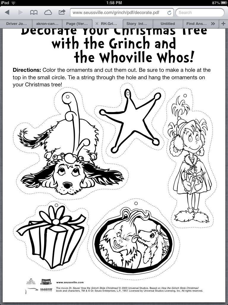 traceable holiday grinch pinterest grinch and holidays