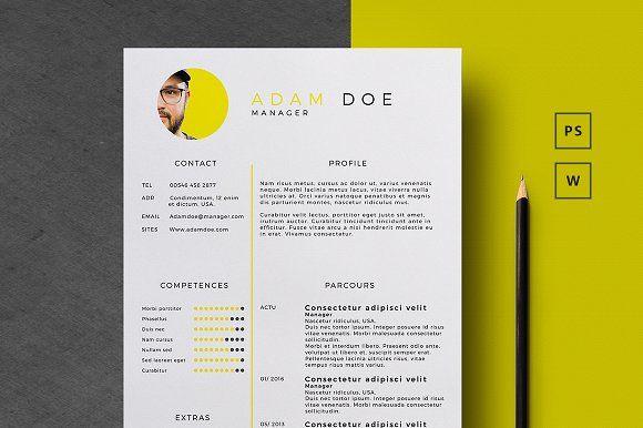 CV/Resume | Pinterest | Template, Business resume and Resume cv