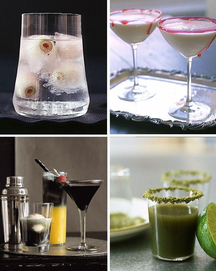 More creepy treats and drinks by Martha Stewart Living At Home - martha stewart halloween ideas