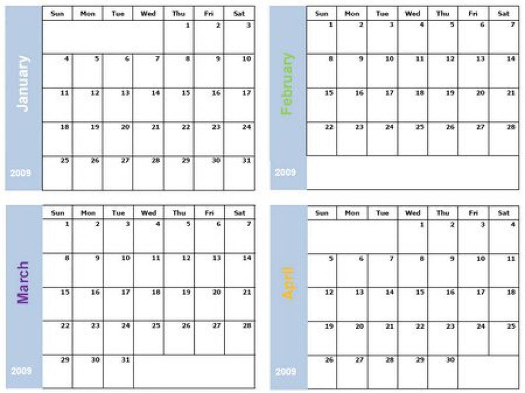 printable 6 month calendar printable 360 degree News to Go 2