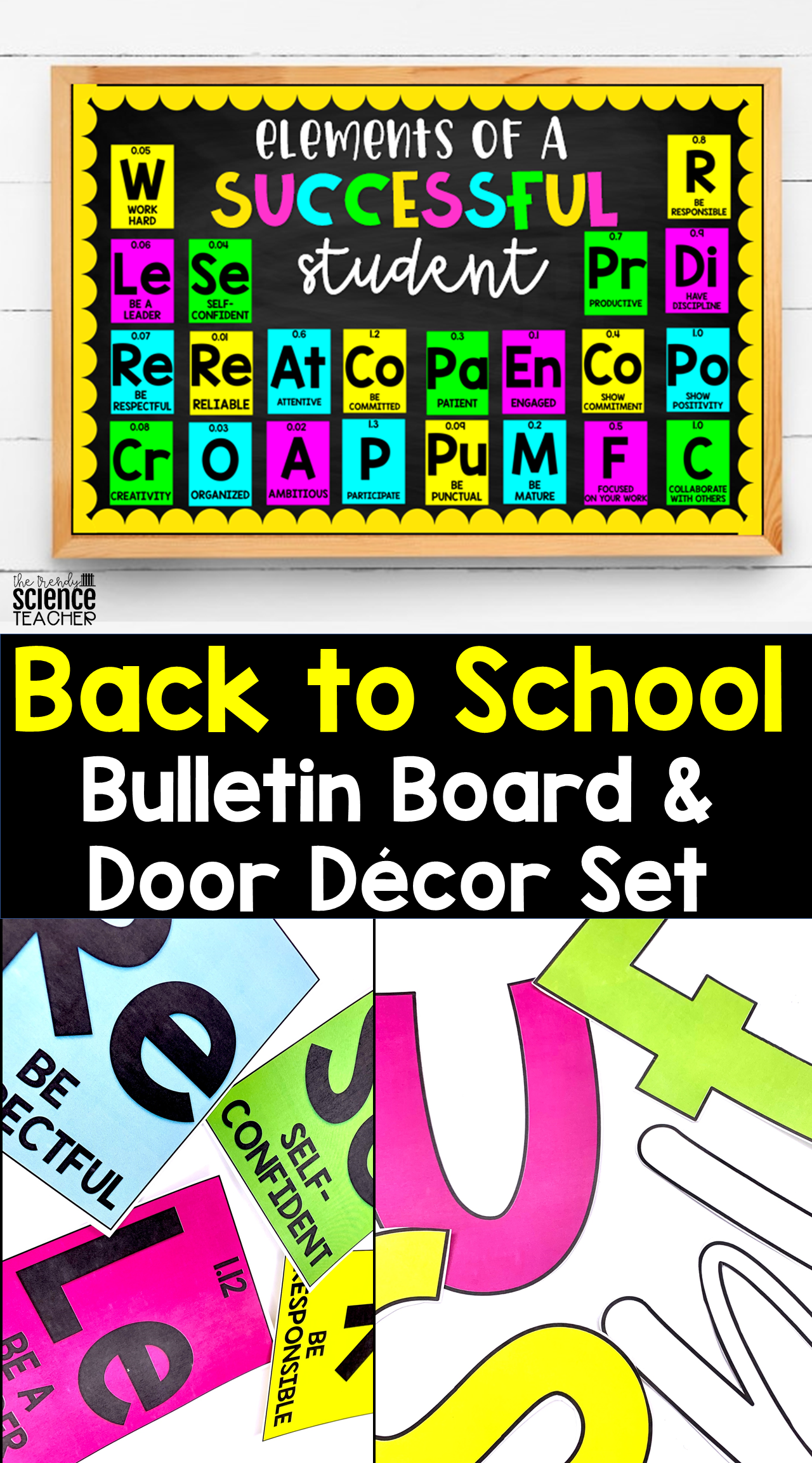 Classroom Bulletin Board Door Decor Science Bulletin Boards Classroom Bulletin Boards High School Elementary Bulletin Boards