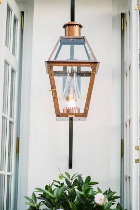 French Quarter Rodin Bevolo Gas Electric Lighting French Quarter Light Works Ceiling Lights