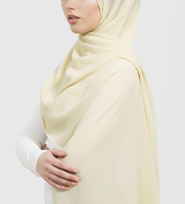 Sorbet Soft Crepe Hijab - £11.90 : Inayah, Islamic Clothing & Fashion, Abayas, Jilbabs, Hijabs, Jalabiyas & Hijab Pins