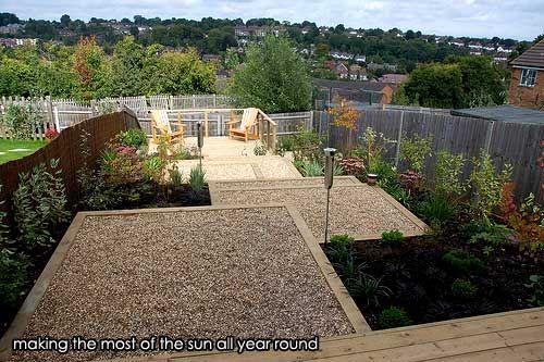 Growing Gardens case studies - Designing around a sloping garden