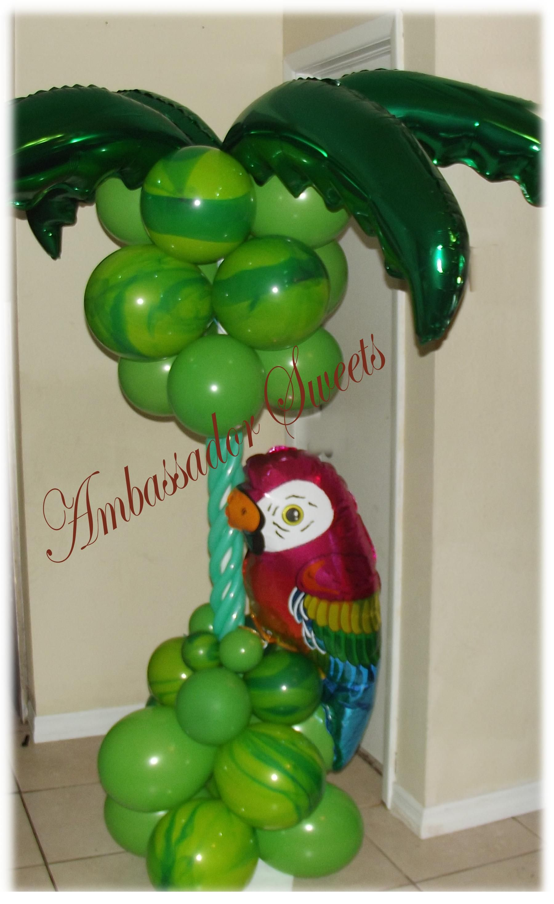Tropical Balloon Column My Spare Time Hobbies In 2019