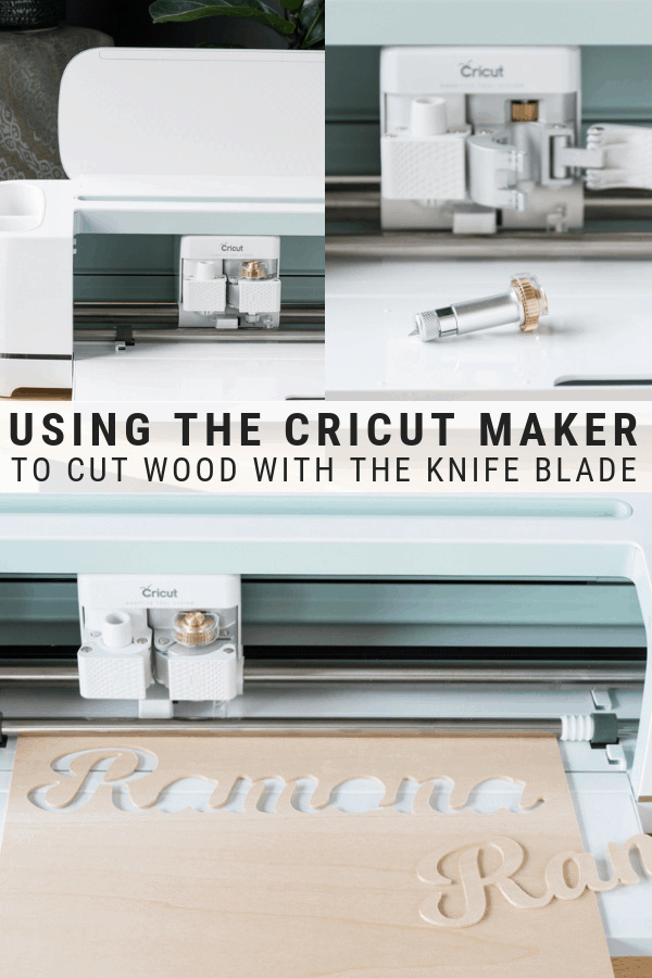 Using the Cricut Maker's Knife Blade to Cut Wood: The Ultimate Guide #cricutcrafts