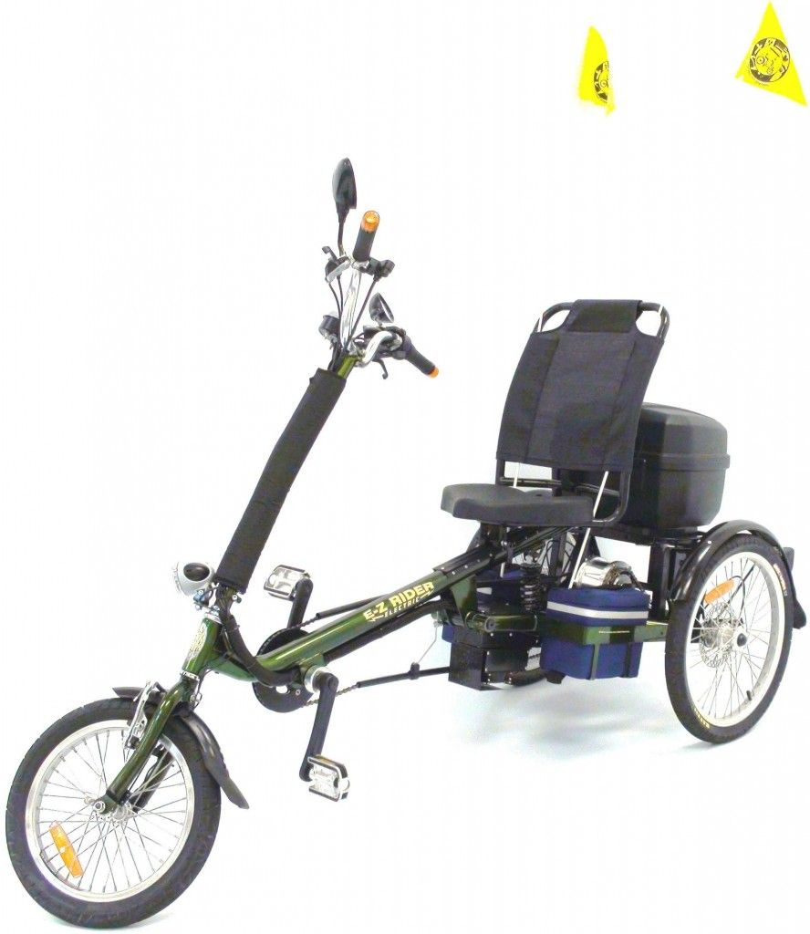 Recumbent Bike Electric Motor Kit: Adult Electric Tricycle, Electric Pedal Assist, Electric