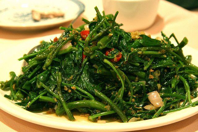 Kangkong - my favourite vegetable.