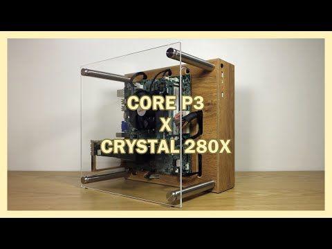 Diy Pc Case Thermaltake Core P3 X Corsair Crystal 280x Inspired Youtube In 2020 Diy Pc Case Diy Pc Pc Cases
