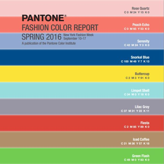 Update Your Colors This Spring With The Recently Released Pantone 2016 Color Report Warm Hues And Undertones Make These Go To For Accessories