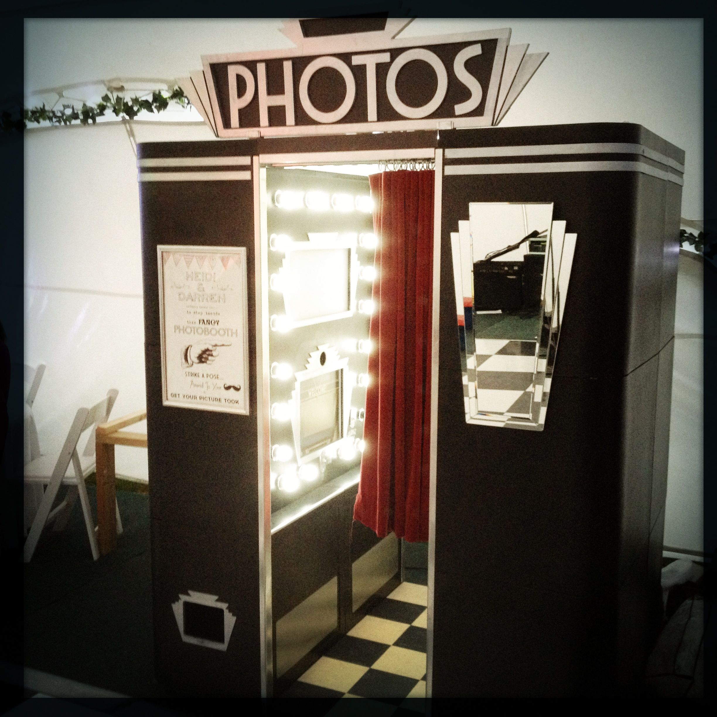 Our New Art Deco Themed Wonder Of A Photobooth Is Now Up U0026