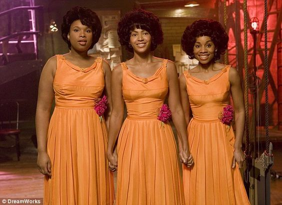 Dreamgirls (2006) - Deena Jones (Beyonce), Effie White (Jennifer Hudson), Lorrell