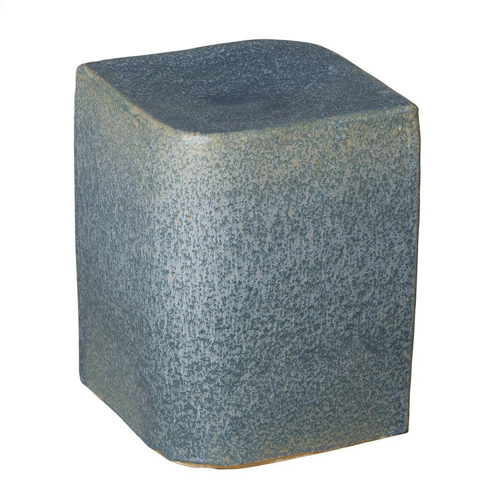 Aero Ceramic Cube Ceramic garden stools, Garden stool