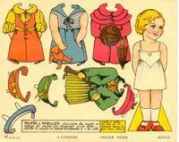 Paper dolls~Adorable for little ladies!