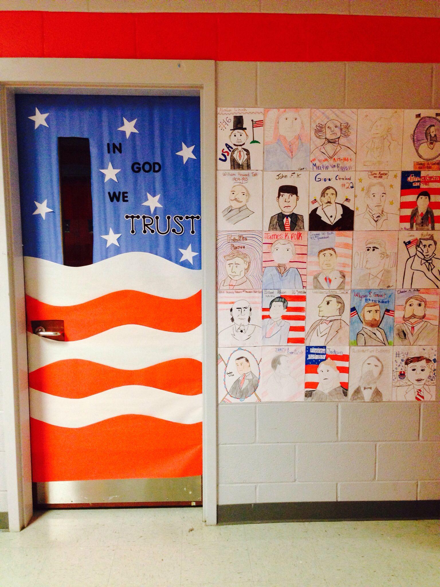 Classroom door decoration social studies school for International decor doors