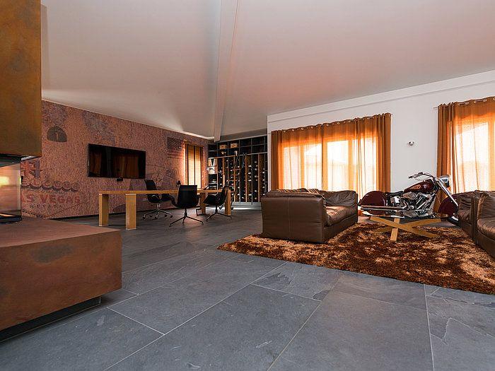 Natursteine, Schiefer, Fliesen, Salon, Villa, Charme, Möbel, Mustangs, Style  Rustique