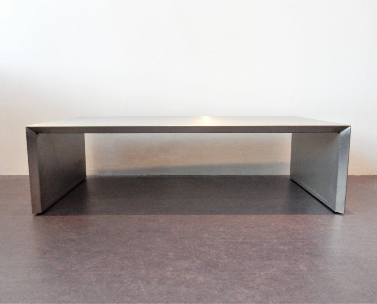 For Sale Mid Century Rectangle Aluminum Coffee Table