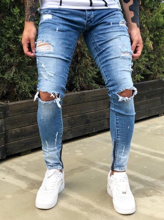 Ripped Ultra Jeans Jeans Masculino Vestuario Masculino Itens Masculinos