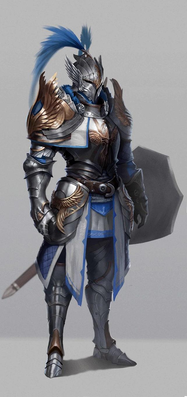Fantasy Medieval Knight Pin by Jason Van Horn ...