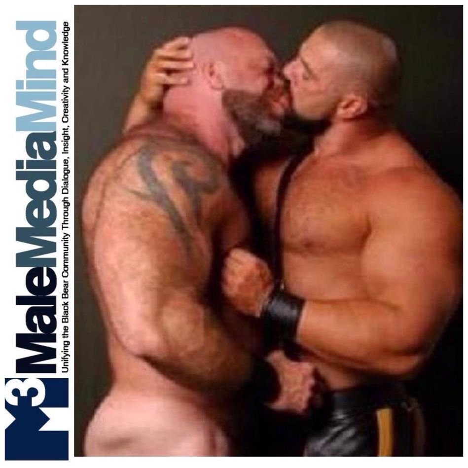 malemediamind #thick #sexy #chest #arms #ass #leather #kissing