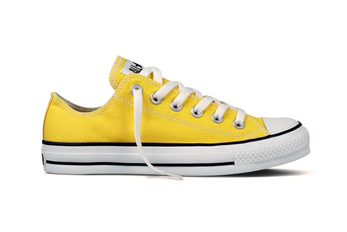 converse all star altas amarillas
