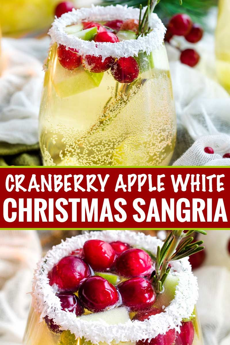 Sweet And Festive This White Sangria Recipe Is Full Of Christmas