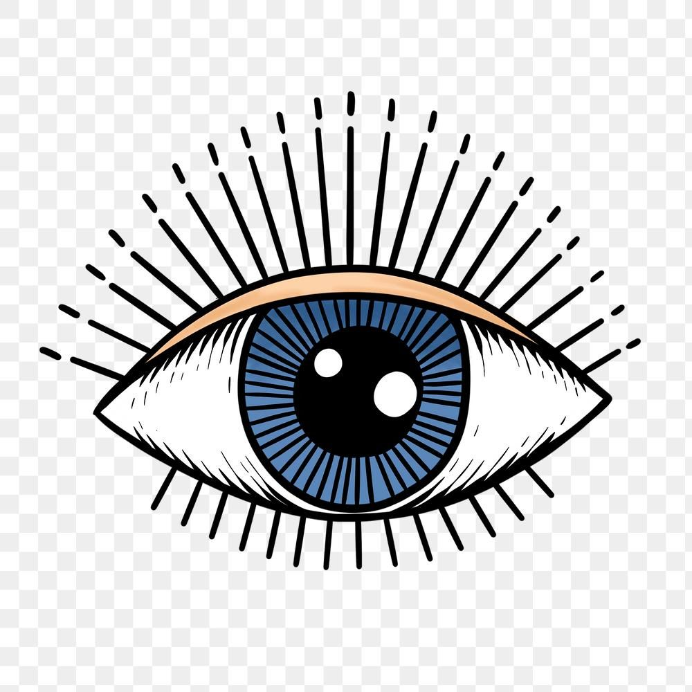 Download Free Png Of Evil Eye Sticker Overlay Design Element By Noon About Illustration Eye Png Art And Vector 236 Evil Eye Art Eye Illustration Eye Outline
