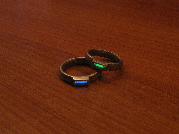 Tritium Uno Ring By Innovodesign Rings Tritium Jewelry