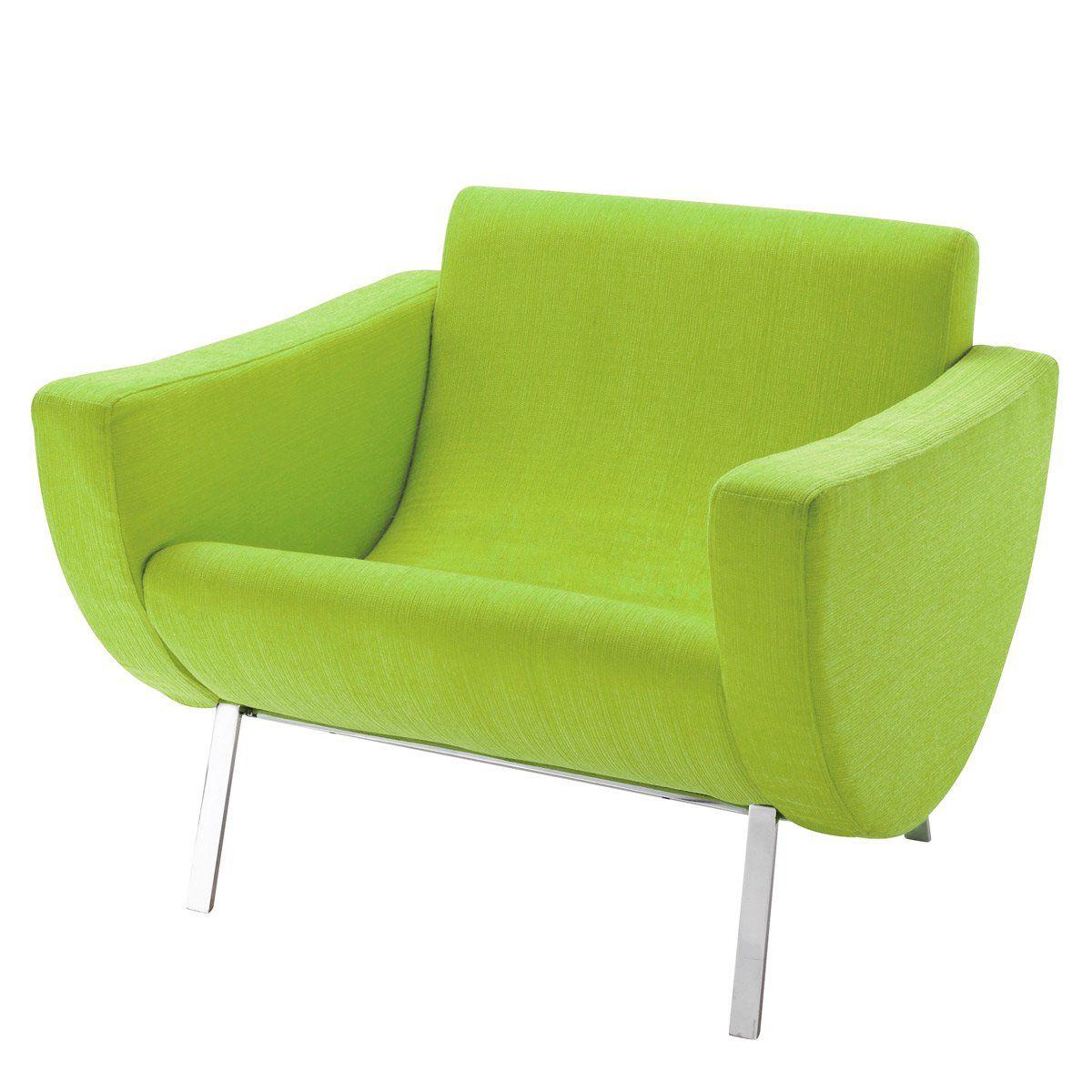 Vintage-Sessel grün MANDARINE