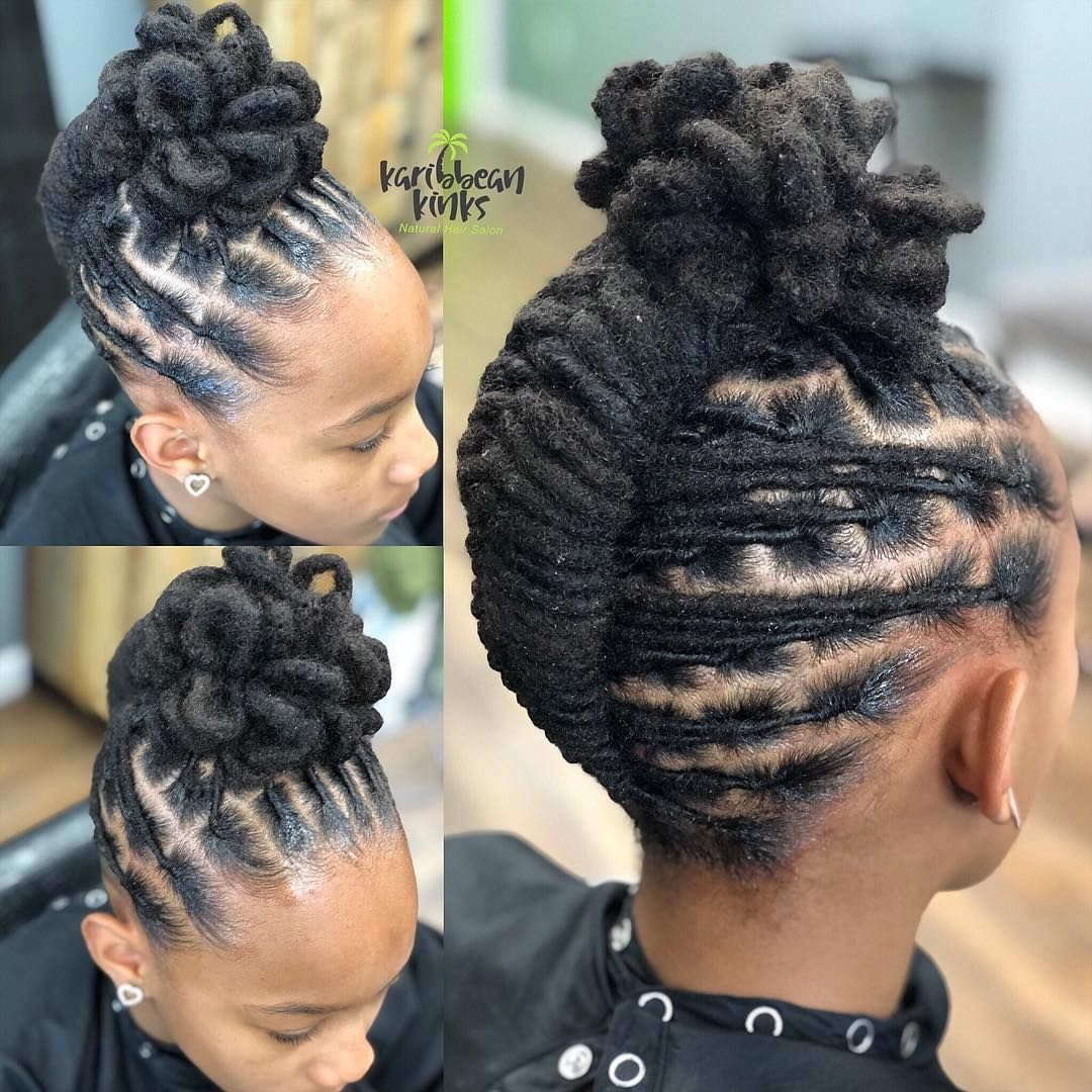 Karibbeankinks Natural Hair Salon Text 301 996 1285 Location Locs Hairstyles Short Locs Hairstyles Dreadlock Hairstyles Black