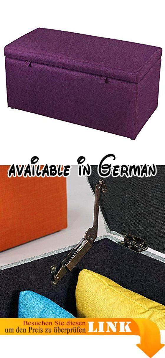 B078TLQJH1  DUO Fußbank Rechteckige Tuch-Speicher-Änderungs-Schuhe - kleiner küchentisch klappbar