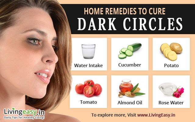 How do you get rid of dark circles?