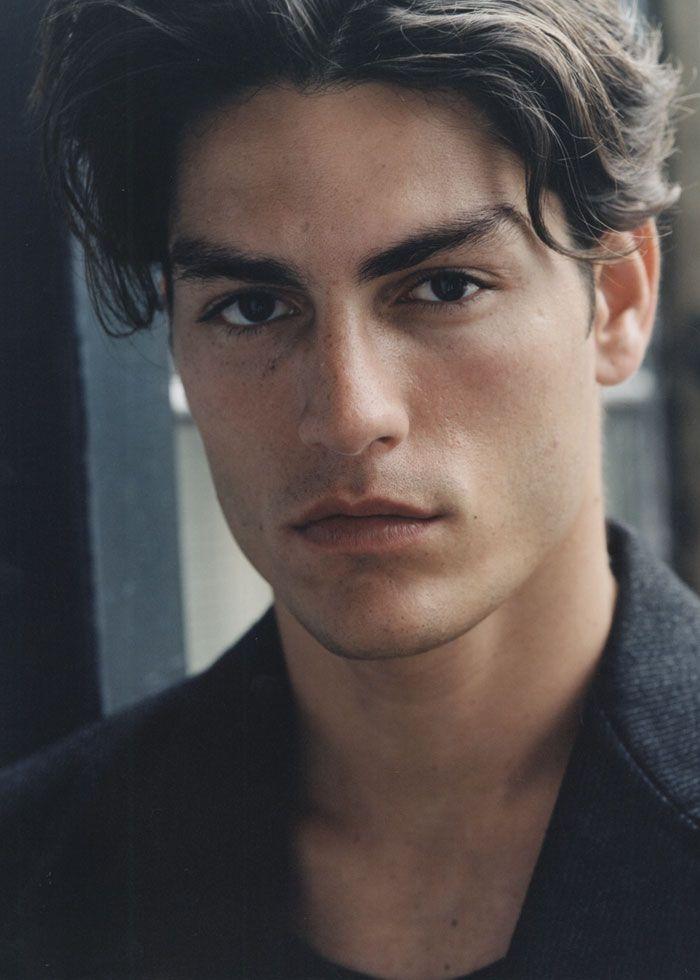 Tayson Ballou   Male model face, Model face, Character